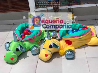 Muñecos Para Bebes. Dino Pelotero Unicornio. Gimnasio.
