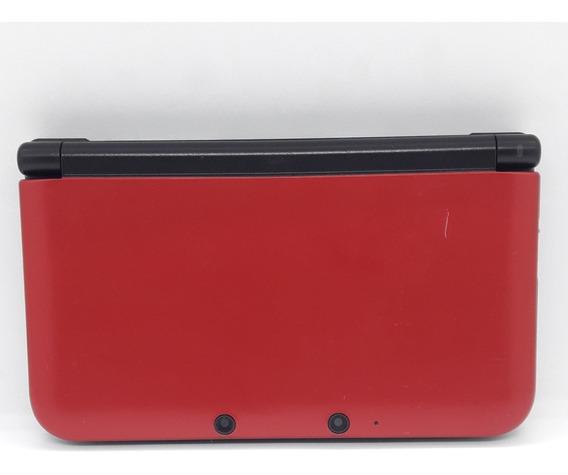 Nintendo 3ds Xl Vermelho Red Completo Com Caixa Videogame