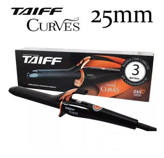 Modelador De Cachos Taiff Curves Cabo Bivolt - 25mm