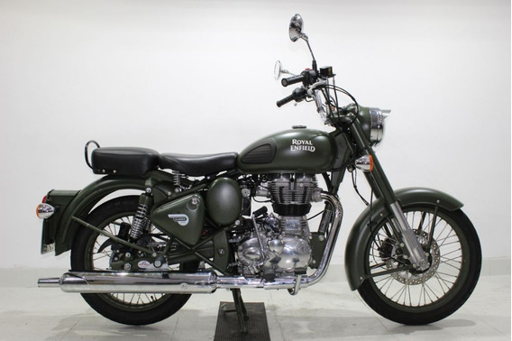 Royal Enfield Classic 500 2018 Verde