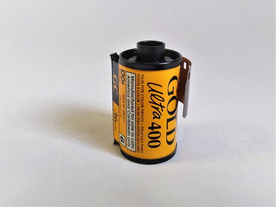 Rollo Fotografico Kodak Ultra Gold 35 Mm Antiguo 36 Fotos