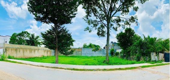 Terreno Habitacional En Venta Cerca De Avenida Principal En Playa Del Carmen