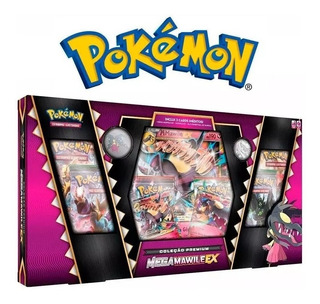 Box Pokémon Mega Mawile Ex Coleção Premium (português)