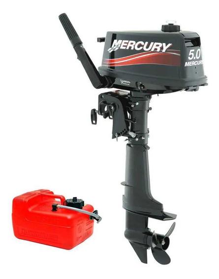 Motor De Popa Mercury 5 Hp 2t - 0km