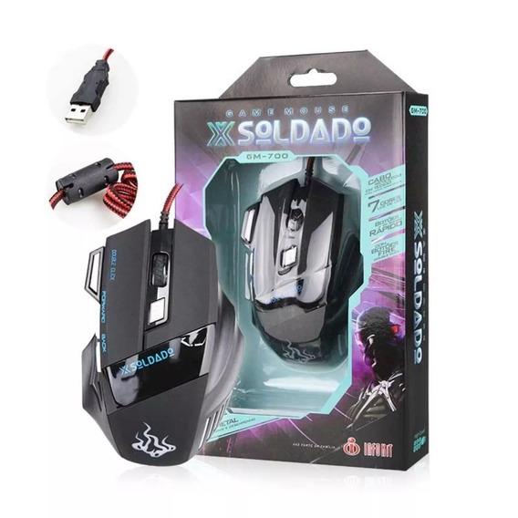 Mouse Gamer Laser 6 Botões 3000 Dpi Alta Precisão Barato