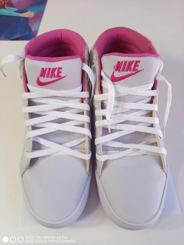 Tênis Para Academia Nike Estilo Bota Cano Curto