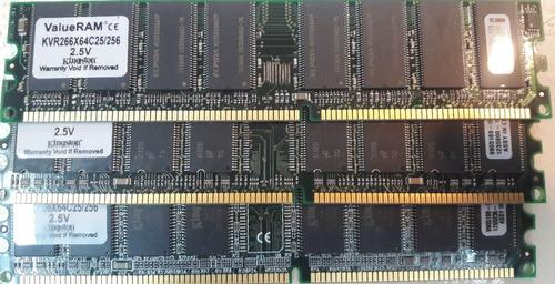 Imagen 1 de 1 de Vintage-memorias Ram Ddr 256 - 333mhz Funcionando.
