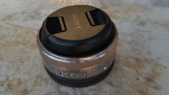 Lente Sony E-mount 16mm 2.8 Em Perfeito Estado!