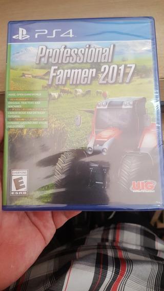 Professional Farmer 2017 Ps4 Mídia Física Impecável