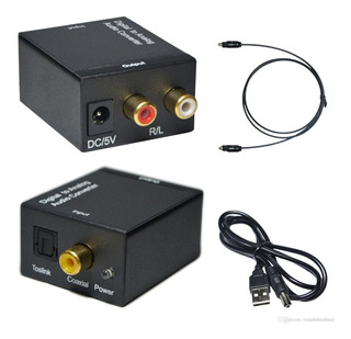 Conversor De Audio Optico Digital A Rca