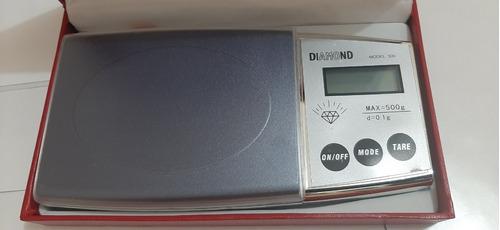 Balança Diamond De Alta Precisão D=0.1g Max=500g