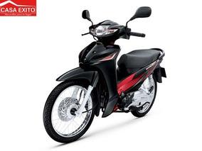 Honda Wave Asf110 Año 2015 Colores Blanco, Negro, Rojo