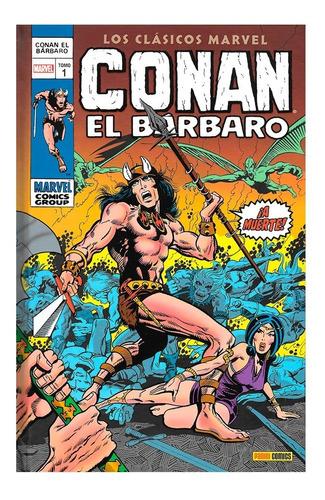 Imagen 1 de 3 de Conan El Barbaro - Tomo 1 - Panini - Marvel - Robert Howard