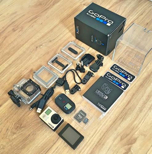 Gopro Hero 3 Black + Lcd Touchscreen + Sd 32gb + 3 Baterias
