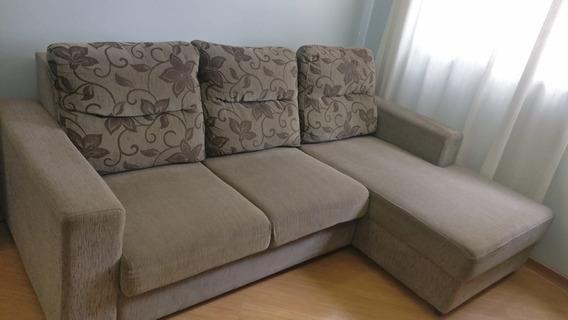 Sofá 2 Lugares + Chaise Em Ótimas Condições
