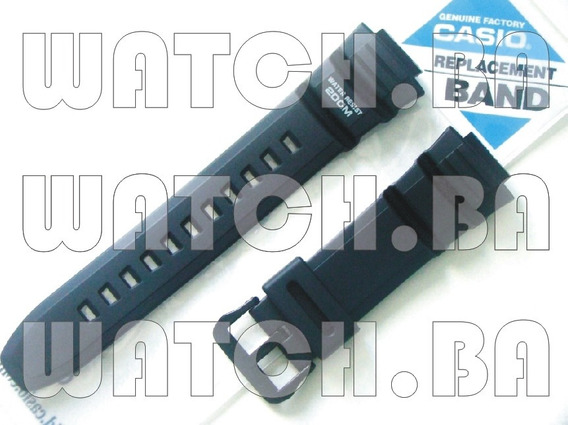 Pulseira Casio Ae-2000 Ae-2100 Wv-200 - Preta - Original!