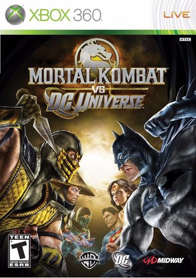 Mortal Kombat Vs Dc Universe (mídia Física) - Xbox 360