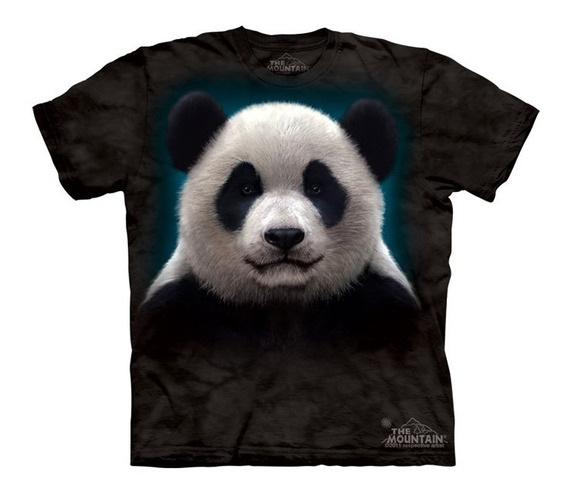 Playera 4d - Unisex Infantiles -3279 Panda Head.