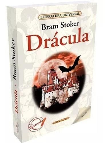 Libro. Drácula. Bram Stoker. Clásicos Fontana.