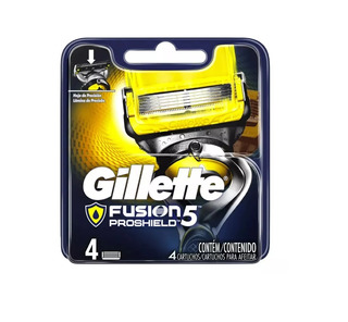 4 Repuestos Afeitar Gillette Fusion 5 Proshield Cartuchos