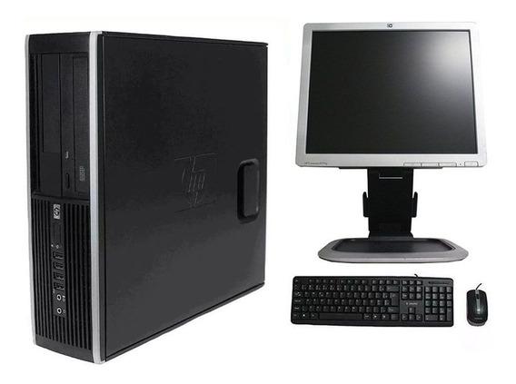 Computador Hp Elite 8300 I3 8gb 500gb Monitor 17 Polegadas