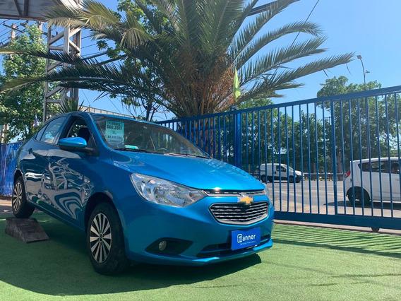 Chevrolet Sail Color Azul 2017 Crédito Y Financiamiento