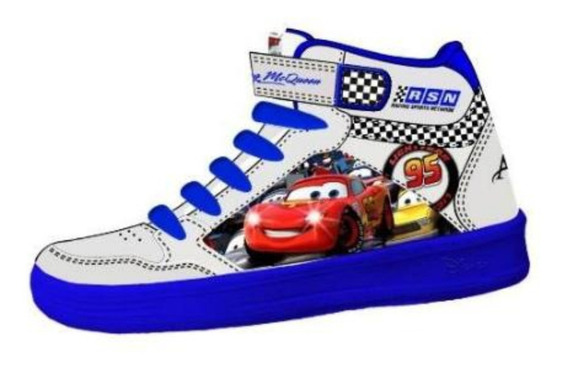 Zapatillas Botitas Disney Cars Addnice Con Luces Mundomanias