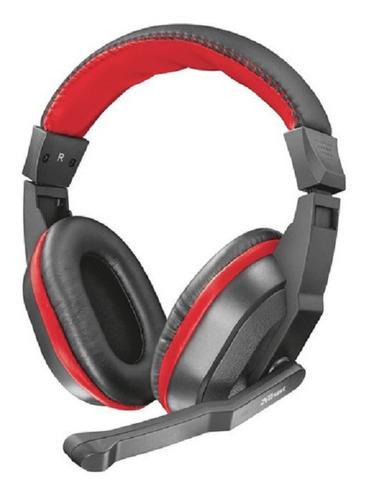 Imagen 1 de 4 de Auricular Gamer Ziva Trust Headset Microfono + Adaptador Pc