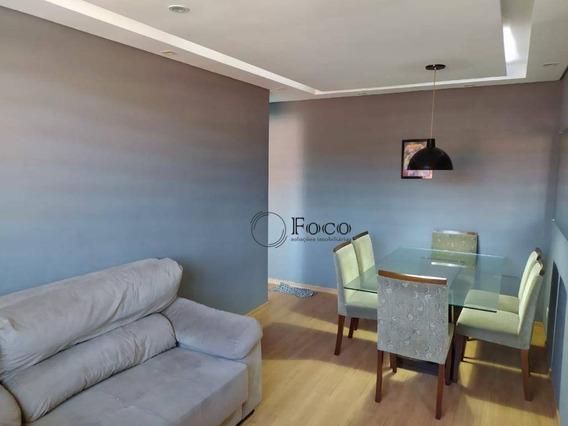Apartamento Com 2 Dormitórios Para Alugar, 48 M² Por R$ 780,00/mês - Residencial Parque Cumbica - Guarulhos/sp - Ap1018