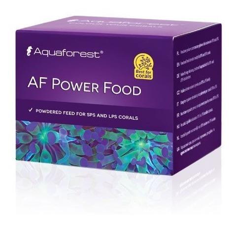 Power Food 20g Aquaforest Alimento Para Corais Sps Lps Softs