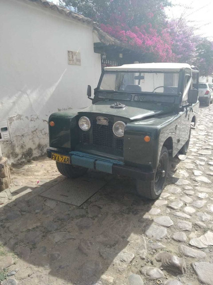 Land Rover Santana Ingles.