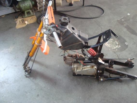 Mini Cross 49cc Para Retirada De Peças