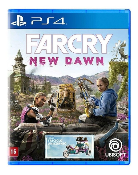 Far Cry New Dawn - Ps4 - Novo - Lacrado