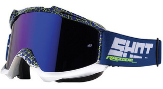 Goggles Shot Race Gear Iris Para Motocross Enduro Cuatrimoto Incluye Mica Transparente