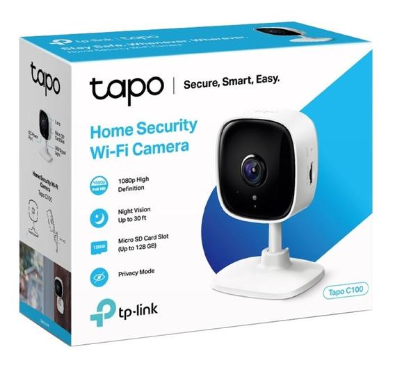 Camara Ip Wi Fi Tp Link Tapo C100 Hd 1080p Wifi Movimiento