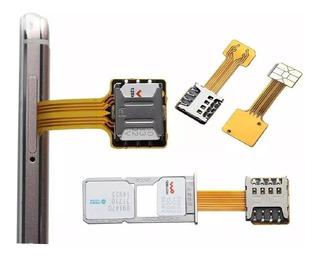 Adaptador Para 2 Sim Y La Microsd - Hybrid Adapter Sim