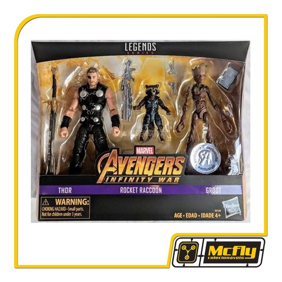 Marvel Legends Thor Rocket Raccoon Groot Avengers Toys Rus