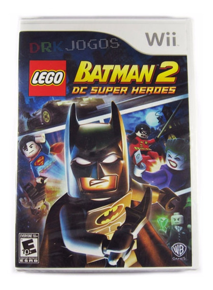 Lego Batman 2 Dc Super Heroes Original Novo Lacrado Wii
