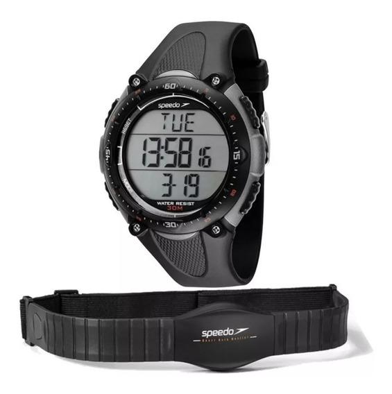 Relógio De Pulso Speedo C/ Monitor Cardíaco 80565goepnp2
