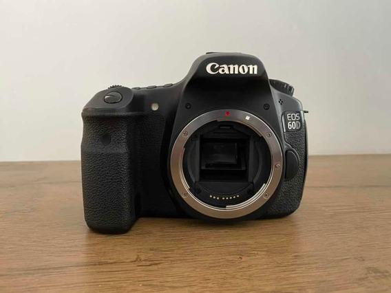 Câmera Cânon Eos 60d + Lente