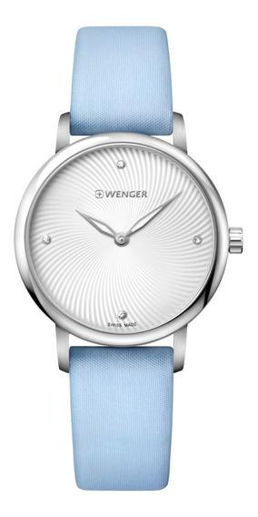 Relógio Feminino Suíco Wenger Urban Donnissima Azul 01.1721
