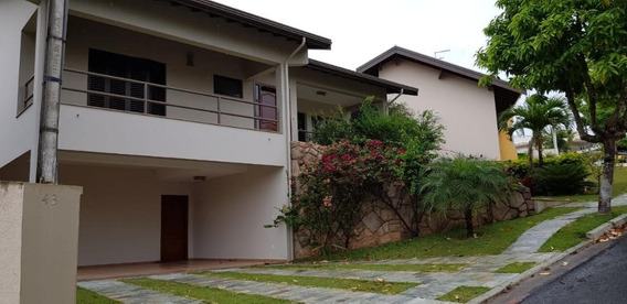 Casa Residencial Para Locação, Jardim Paiquerê, Valinhos - Ca3147. - Ca3147