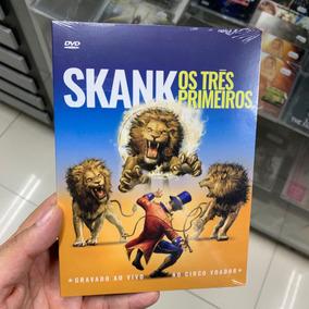Skank - Os Tres Primeiros Dvd Original Lacrado