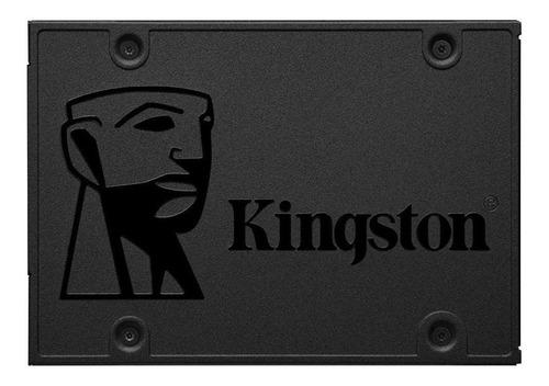 Imagen 1 de 2 de Disco sólido SSD interno Kingston SA400S37/1920G 1920GB negro