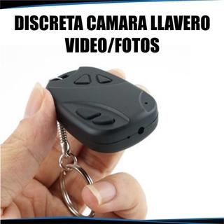 Llavero C/càmara Espìa Oculta Potàtil Tipo Control