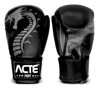 Par De Luvas De Boxe Profissional Dragon P3 Acte Sports Luta