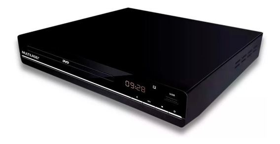 Dvd Player 3 Em 1 Usb Preto Multilaser - Sp252