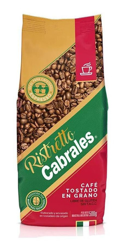 Cafe Grano Cabrales Ristretto 500gr Expresso Tostado
