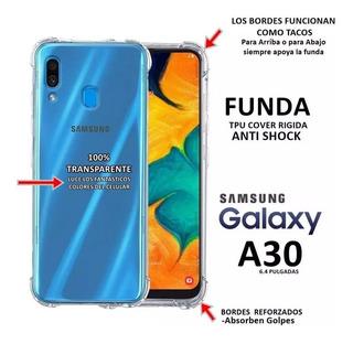 Funda Antigolpe Samsung A10 A20 A30 A50 + Vidrio Templado