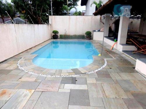 Imagem 1 de 14 de Casa  Residencial À Venda, Praia Da Enseada, Guarujá. - Ca1377